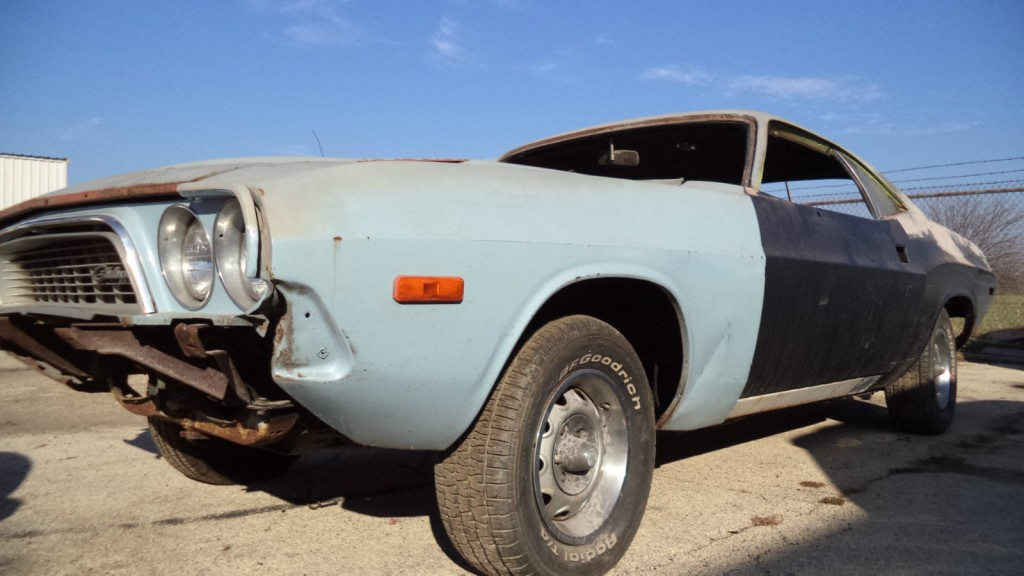 1973 Dodge Challenger Project Car 318 Auto For Sale