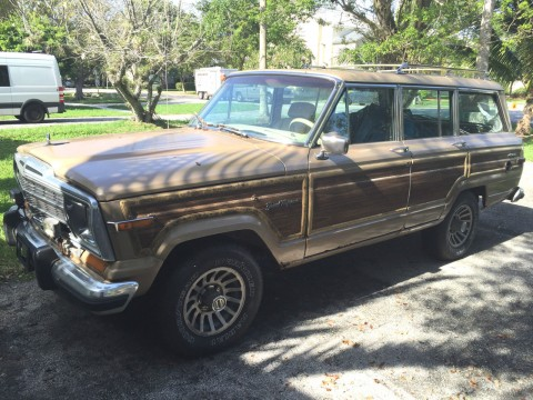 1990 Jeep Wagoneer 4X4 project for sale