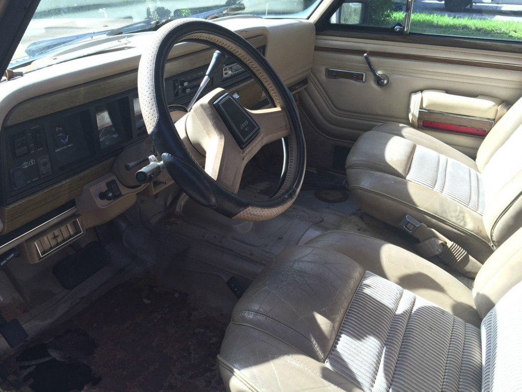1990 Jeep Wagoneer 4X4 project