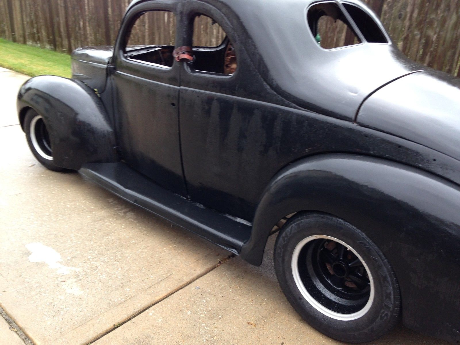1940 Ford Deluxe Coupe Hot Rod Rat Rod Project For Sale