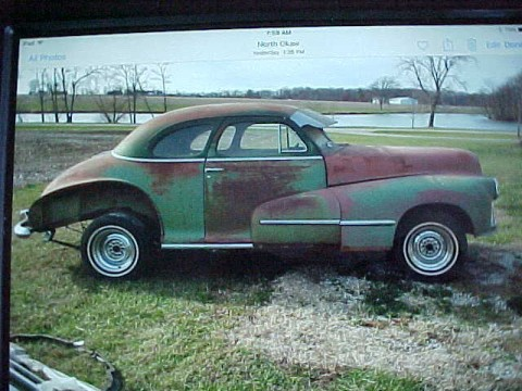 1948 Oldsmobile Coupe Street Rod Project Car for sale