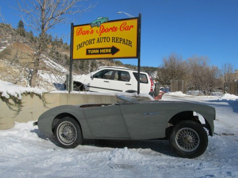 1955 Austin Healey 100 4 resto project car for sale