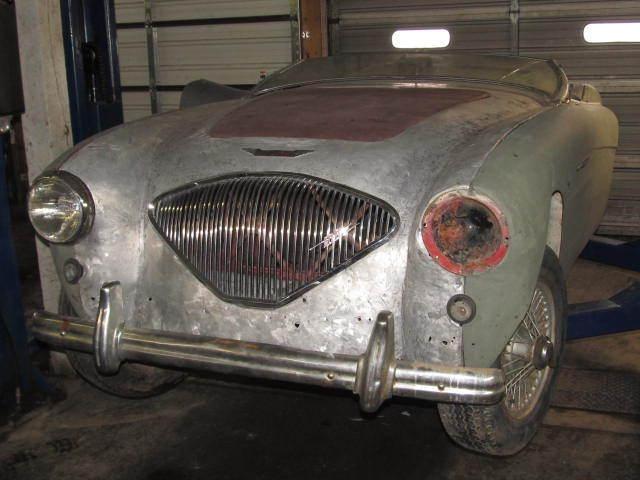 1955 Austin Healey 100 4 resto project car