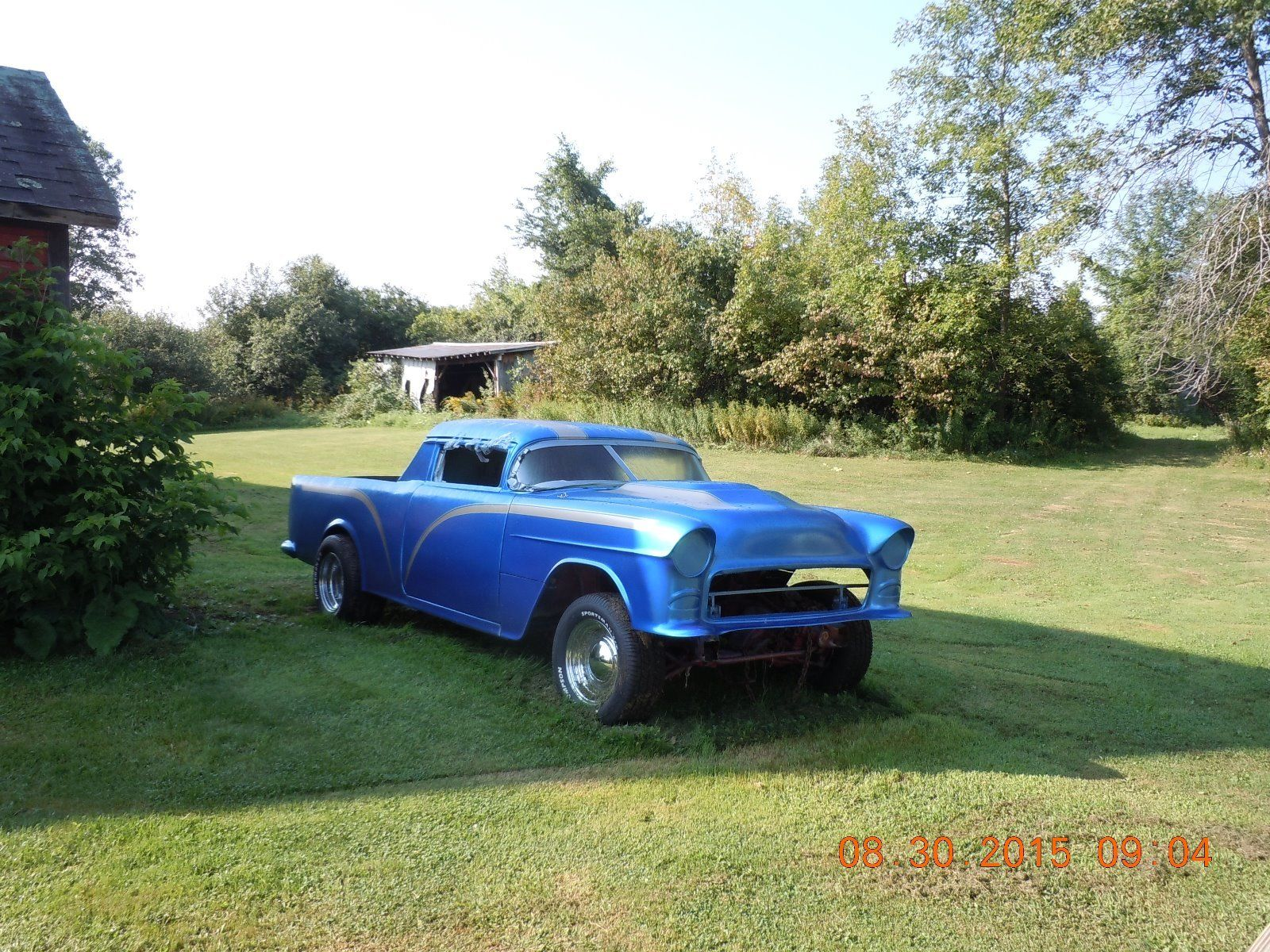 chevy project cars Hotrod project 75%complete running fresh built procharged big block chevy 454 sounds amazing duel 2 chamber flowmasters and the procharger sounds really spectacular.