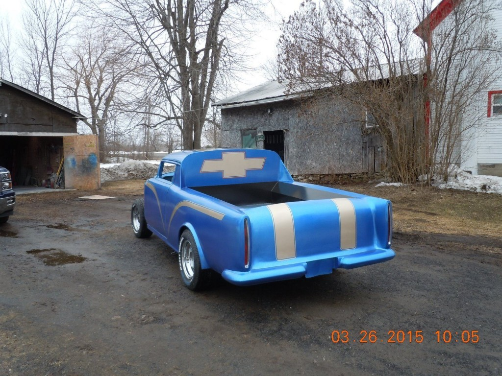 1955 Chevrolet chop top project custom