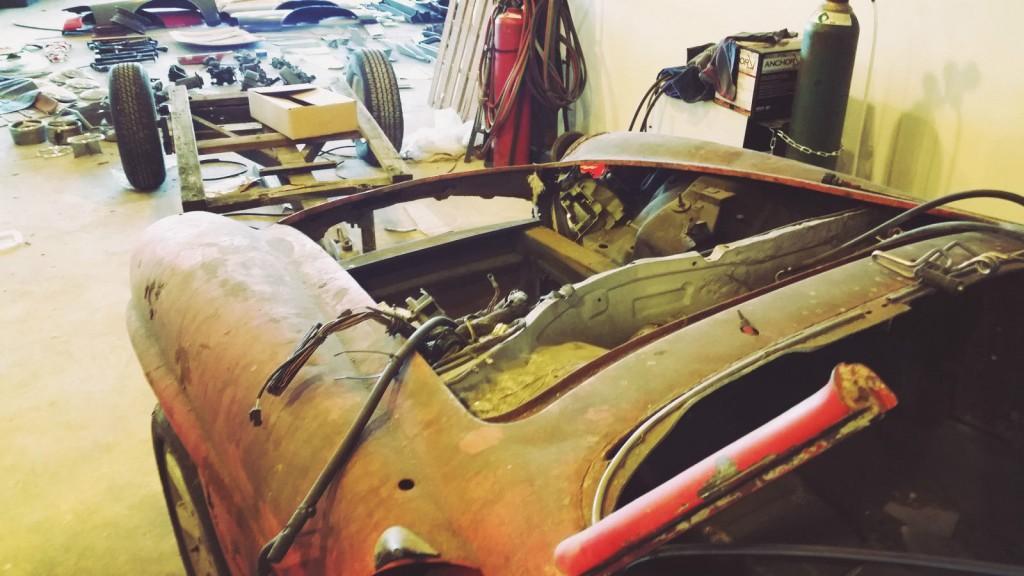 1956 Mercedes Benz 190 Series project car