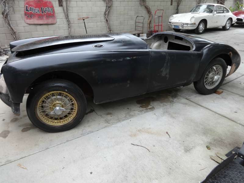 1956 MGA California Project