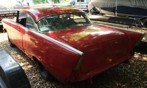 1957 Chevrolet Bel Air 2 Door Hardtop Roller Project Car for sale