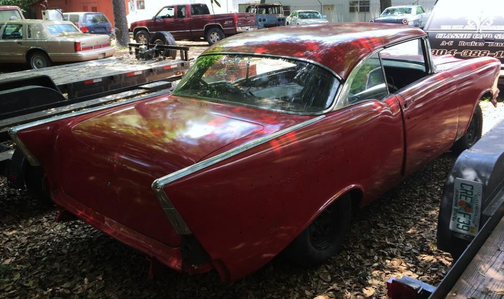 1957 Chevrolet Bel Air 2 Door Hardtop Roller Project Car