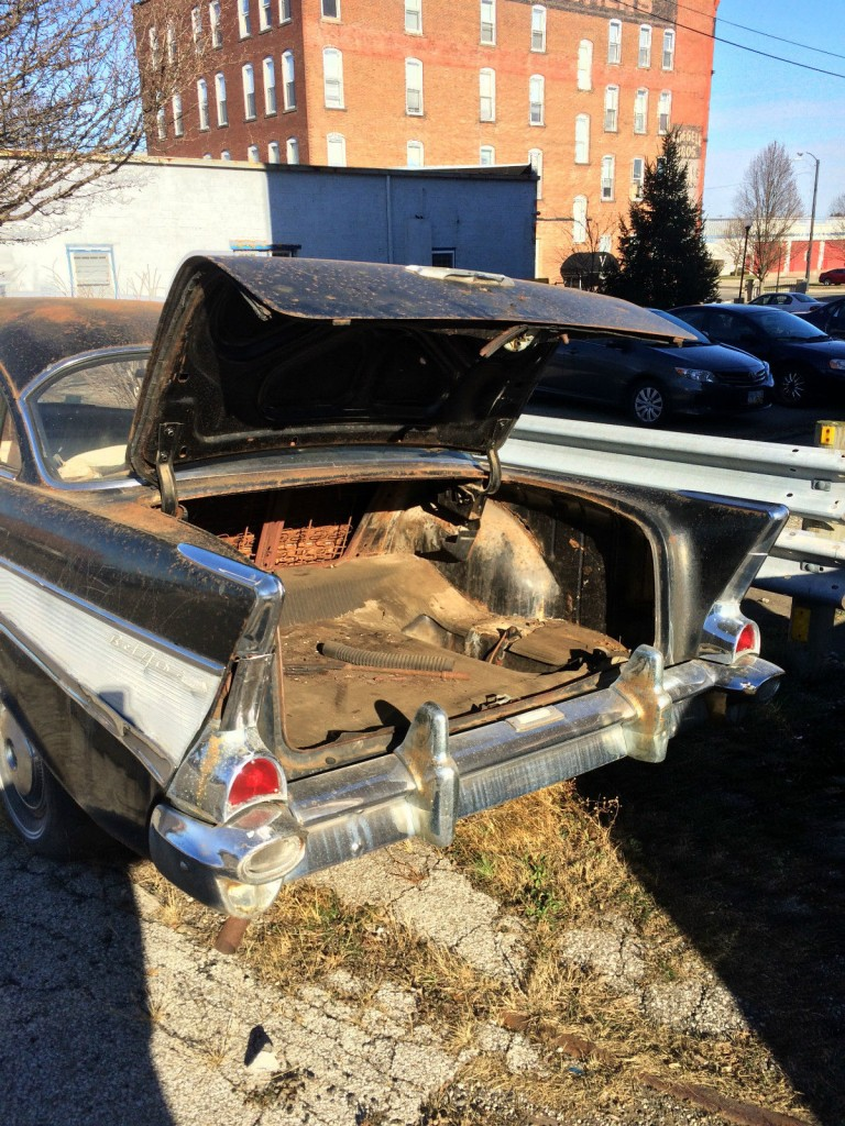 1957 Chevrolet Has Bel Air on the fins but it's not a Bel Air