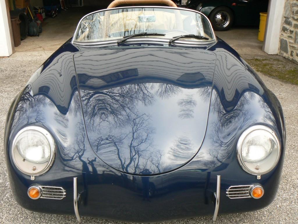 1957 Porsche 356 Speedster Replica Project