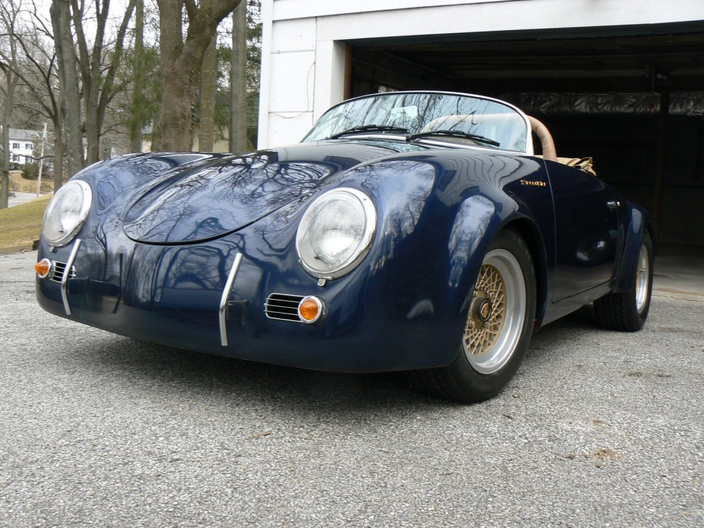 1957 porsche 356 speedster replica project for sale. Black Bedroom Furniture Sets. Home Design Ideas