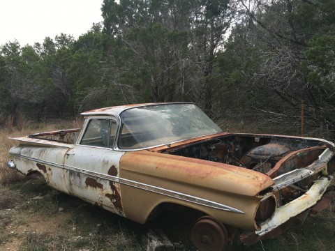 1959 Chevrolet El Camino Project Car for sale