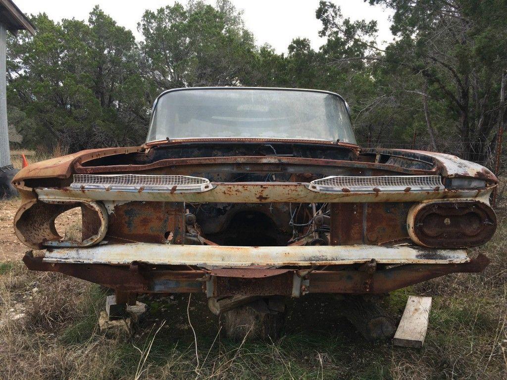 1959 Chevrolet El Camino Project Car
