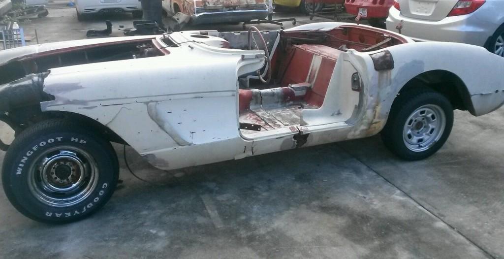 corvette project car for sale