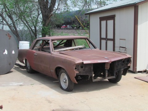 1964 Pontiac Le Mans/GTO Pro Street Project for sale