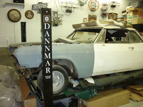 1965 Chevrolet Impala SS Convertible (project) for sale