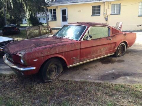 1966 Ford Mustang Fastback C code 289 V8 Complete Project Survivor for sale