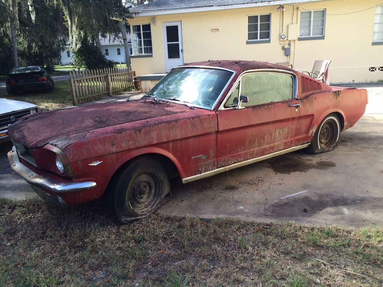 1966 ford mustang fastback c code 289 v8 complete project survivor for sale. Black Bedroom Furniture Sets. Home Design Ideas