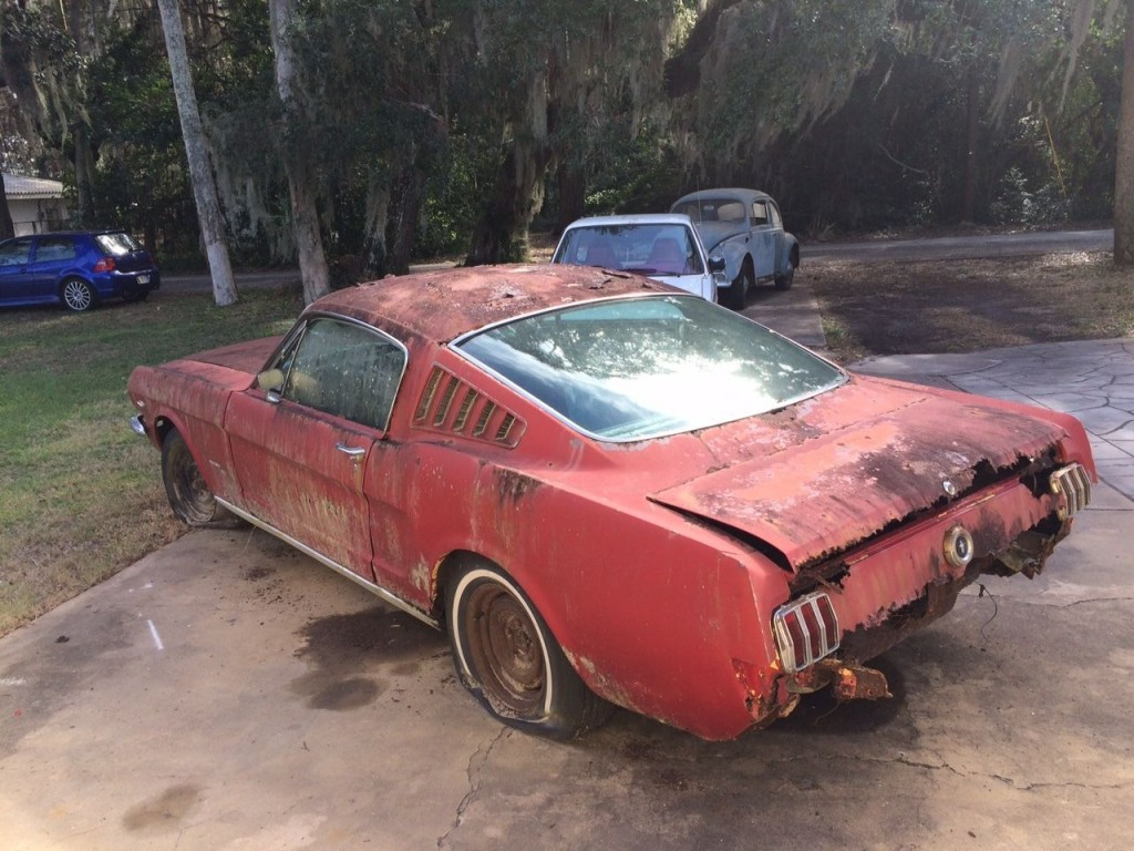 1966 Ford Mustang Fastback C code 289 V8 Complete Project Survivor