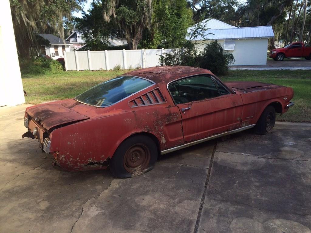 1966 Ford Mustang Fastback C code 289 V8 Complete Project Survivor