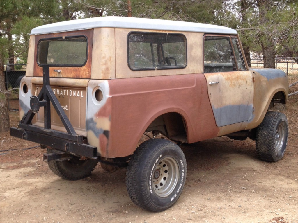 1966 international harvester scout 800 project for sale