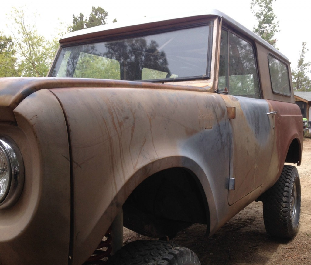 1966 International Harvester Scout 800 Project