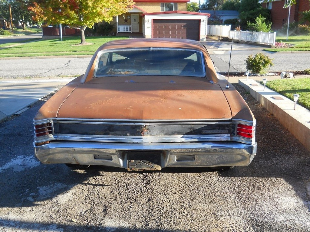 1967 Chevrolet Chevelle 396 Sport Coupe SS Clone Project