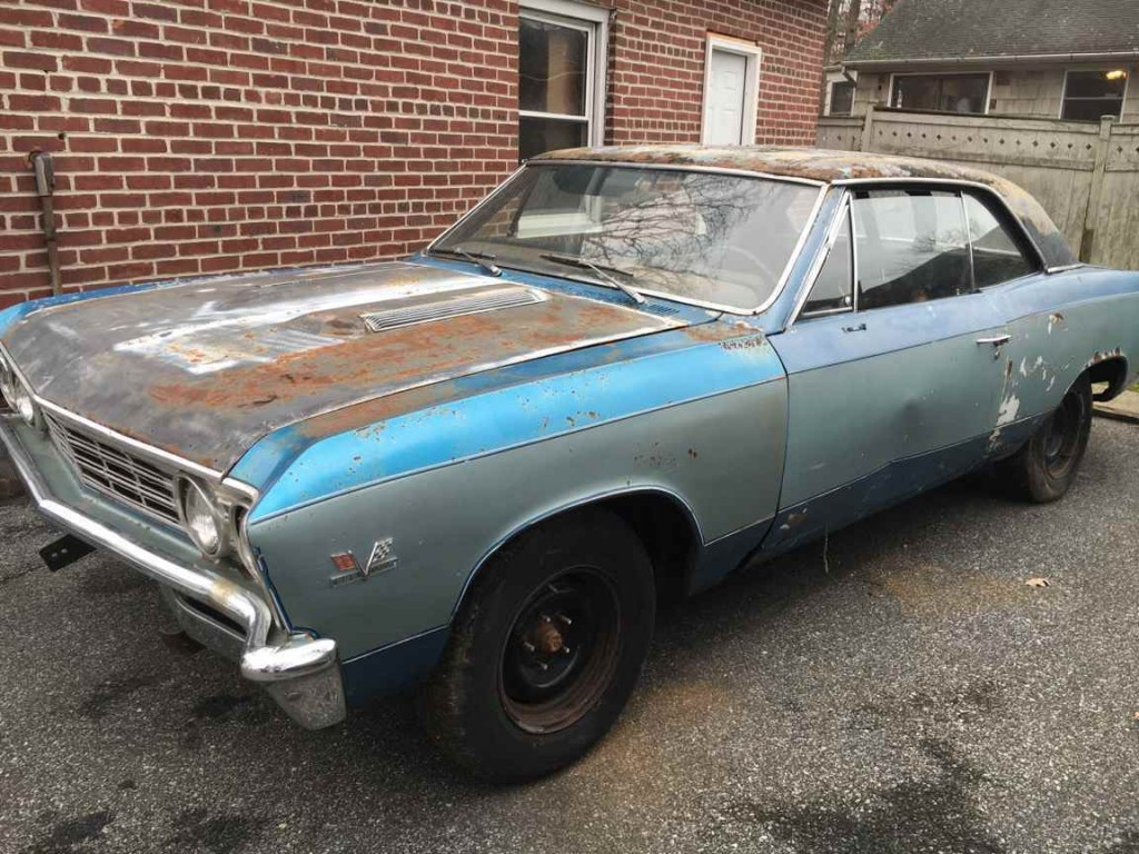 1967 Chevrolet Chevelle Super Sport Project For Sale