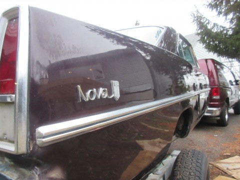 1967 Chevrolet Nova Street Rod Project for sale