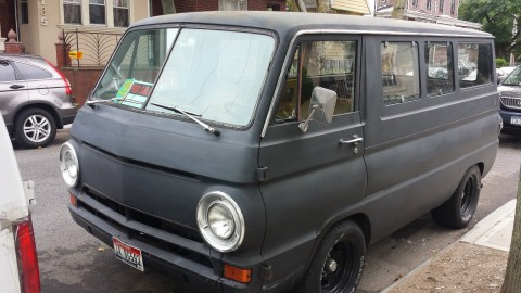 1967 Dodge A100 rat rod project van for sale