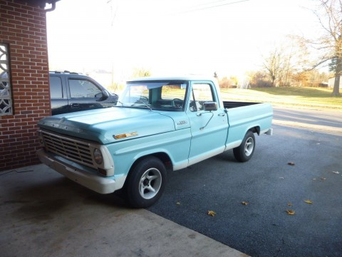 1967 Ford F100 Project Truck for sale
