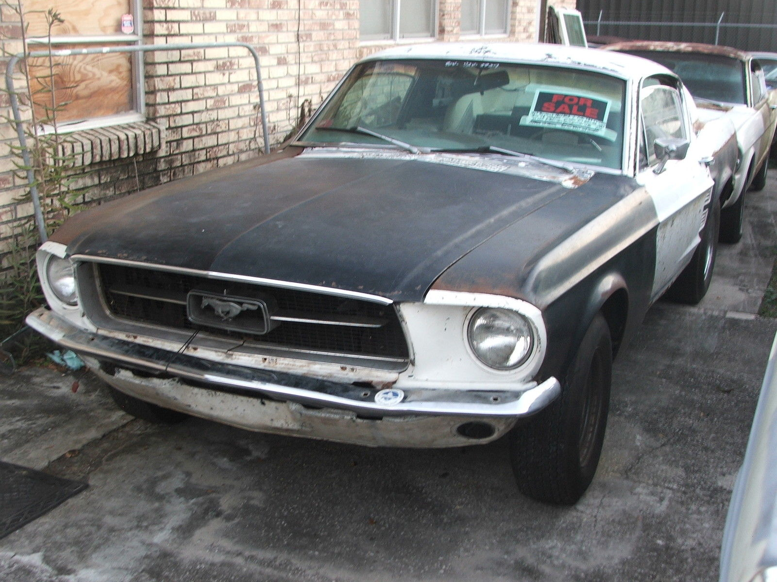 Ford Mustang Fastback 1967 Supercharged 1964 Project Car For Sale