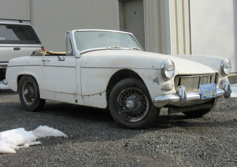 1967 MG Midget Project for sale