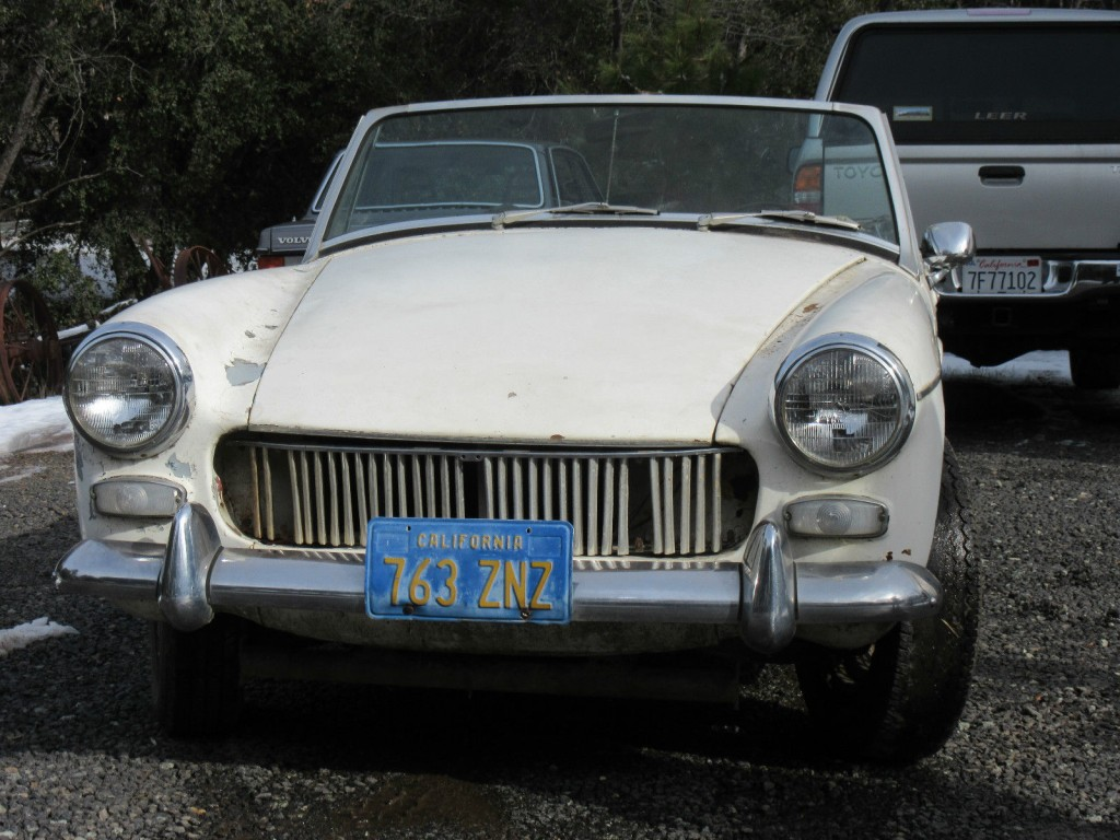 1967 MG Midget Project