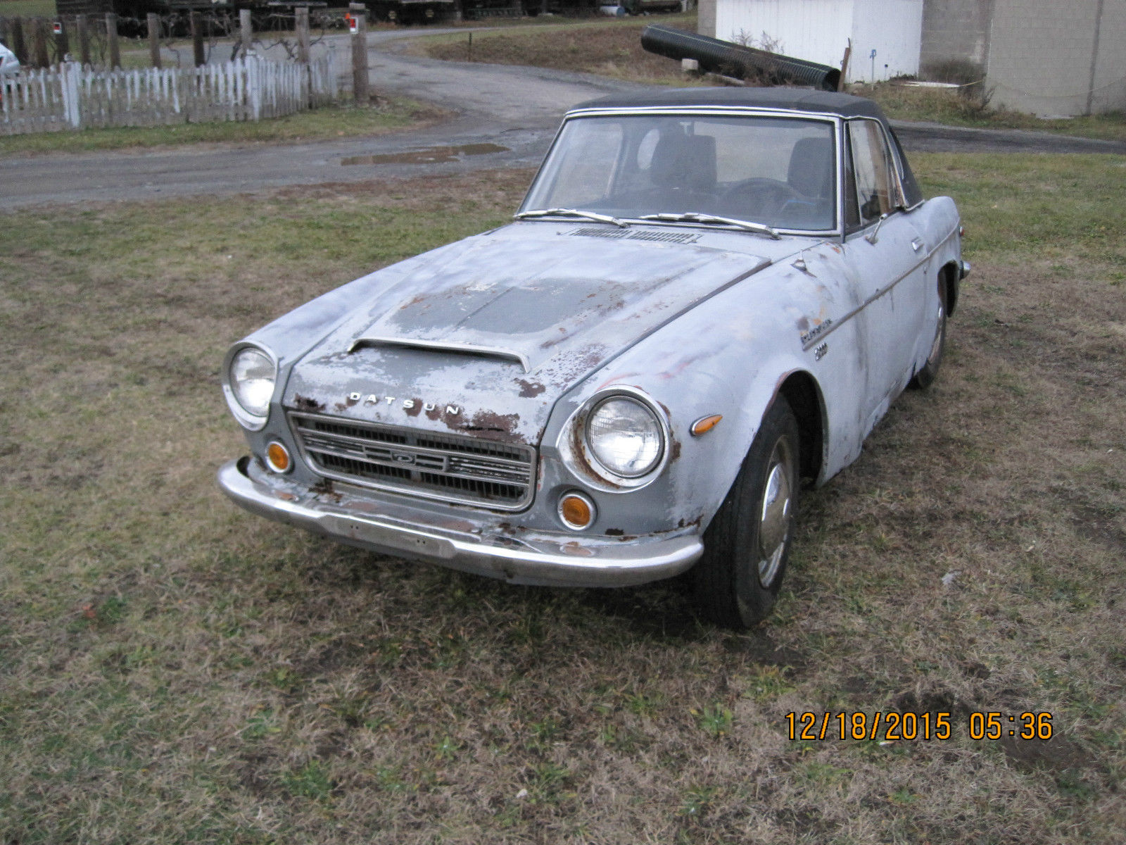 1969 Datsun Roadster 2000 Fairlady Project for sale