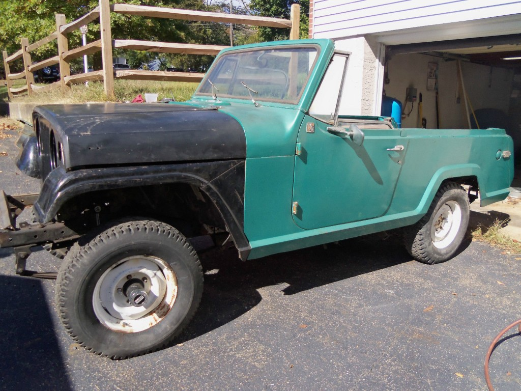 Jeepster Commando Project Project Cars For Sale X