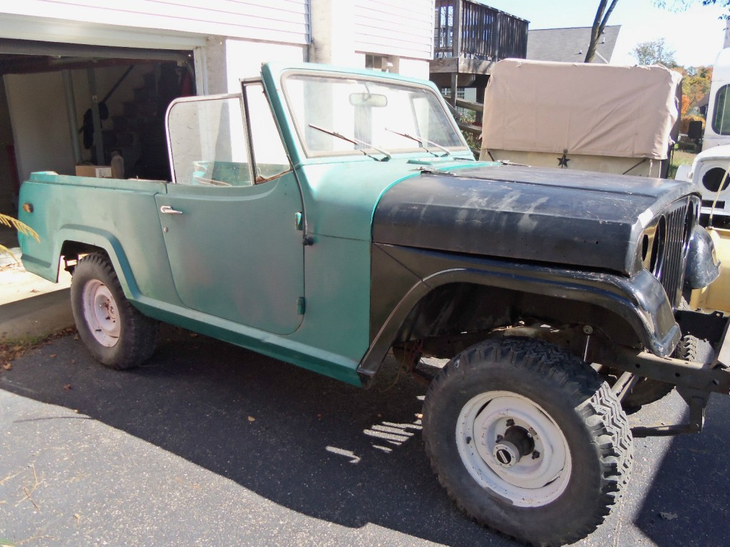 1969 Jeepster Commando Project