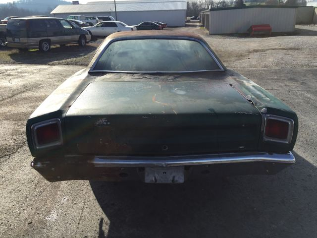 1969 Plymouth Road Runner Project Car For Sale