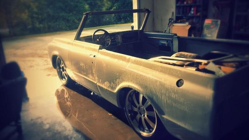 1970 Chevy K5 Blazer roller on shortened  C10 chassis