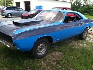 1970 Dodge Challenger project