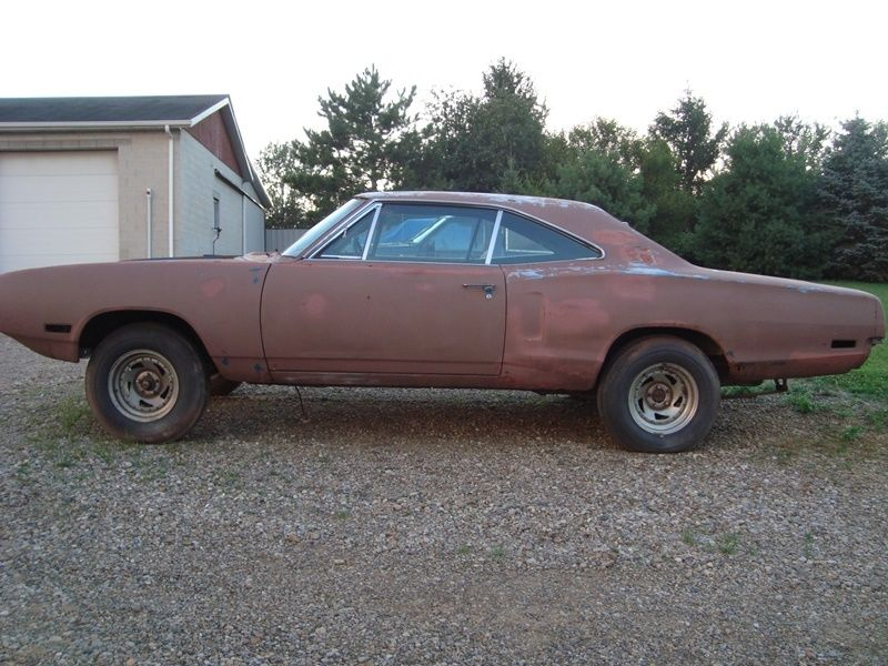 1970 Dodge Charger Rt Project Car Overall Solid Car For Sale