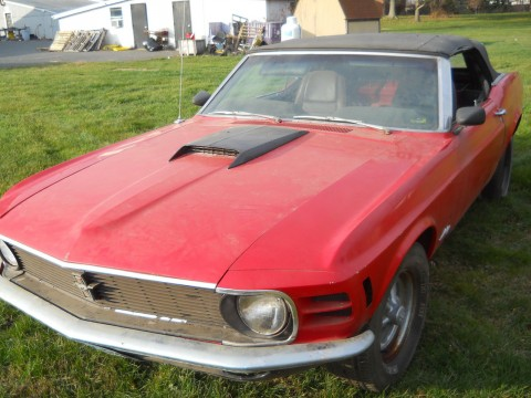 1969 ford mustang mach 1 project car project cars for sale. Black Bedroom Furniture Sets. Home Design Ideas