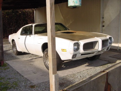 1970 Pontiac Trans Am Clone Barn Find Project for sale