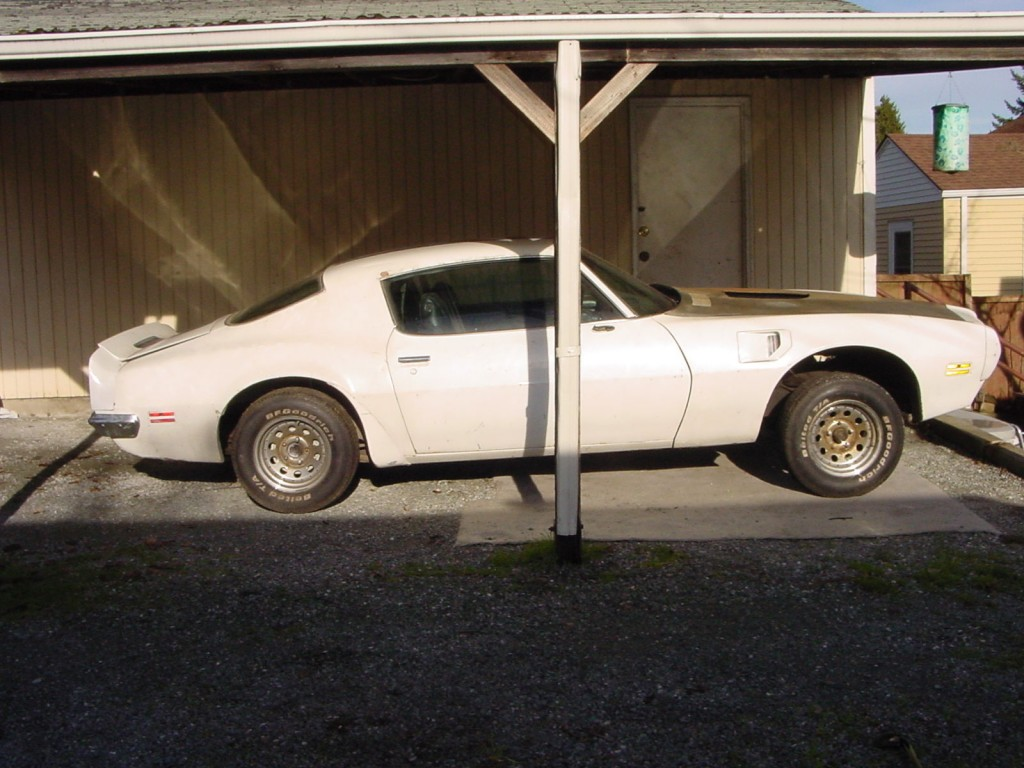 1970 Pontiac Trans Am Clone Barn Find Project