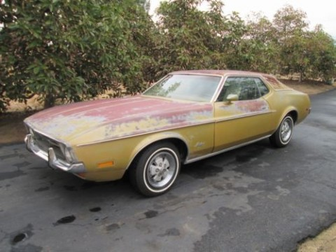1972 Ford Mustang Grande Restoration Project for sale