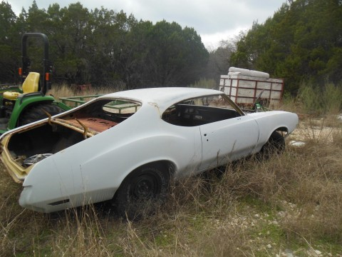 1972 Oldsmobile Cutlass Can be Built as a 442 or W-30 for sale