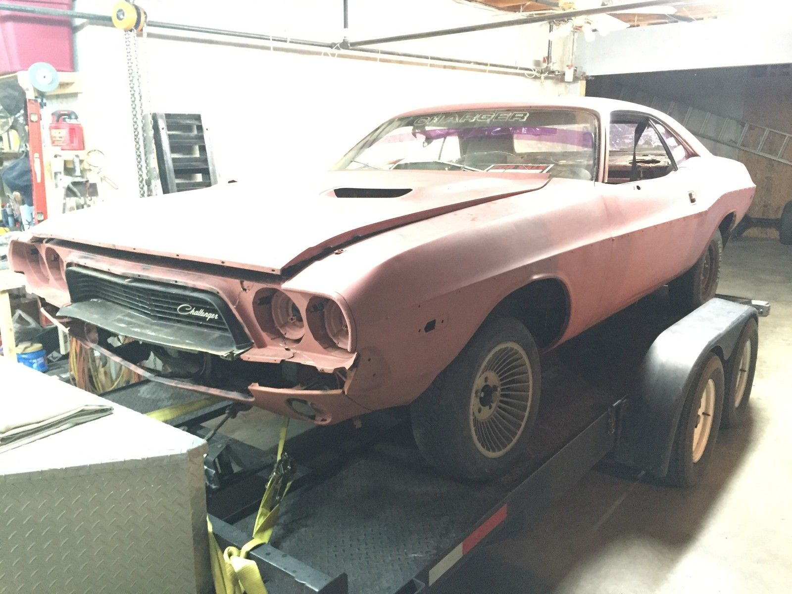 1973 Dodge Challenger Project Car No Motor Or Transmission