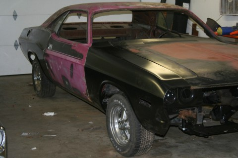 1973 Dodge Challenger rallye project for sale