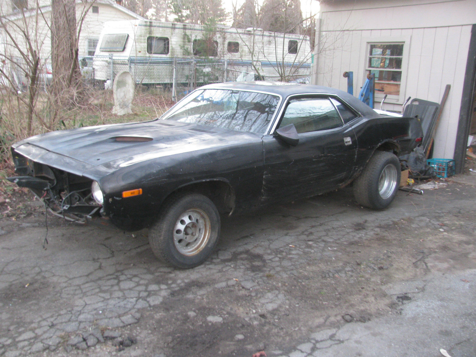 Plymouth Barracuda Project Car For Sale